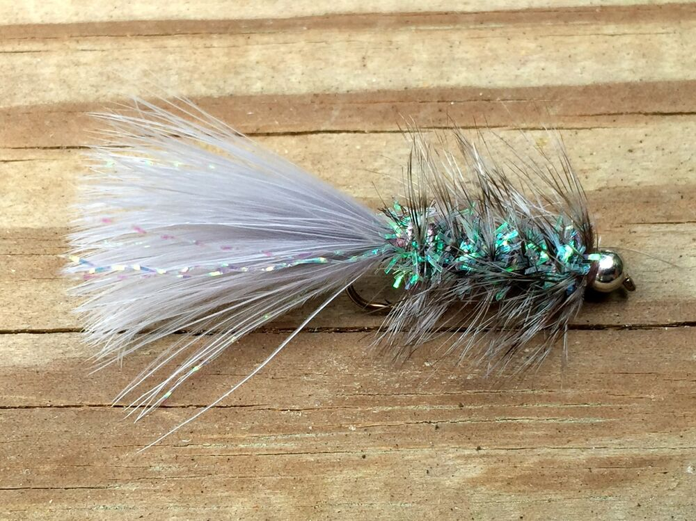 Fly fishing flies bass bream trout salmon beadhead for Fly fishing flies for bass