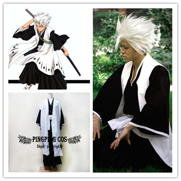 Bleach Cosplay Costumes 10th Division Captain ひつがや とうしろう