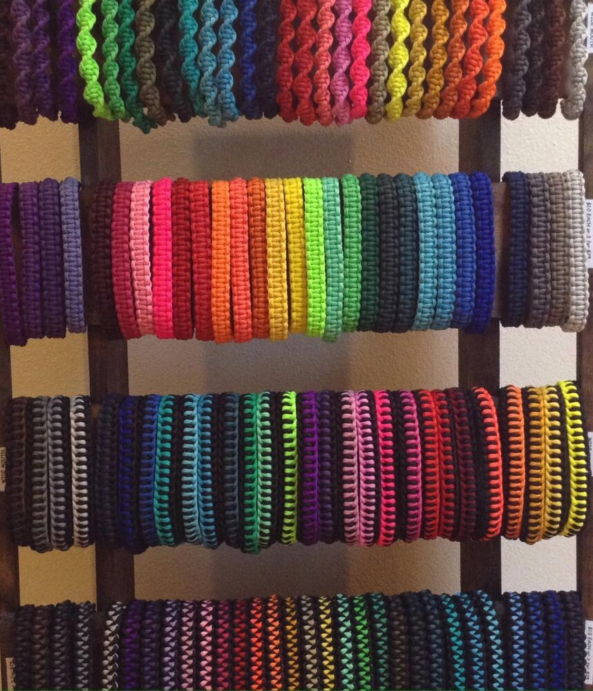 Paracord hydro flask handles lot of 3 single handles for 25 free