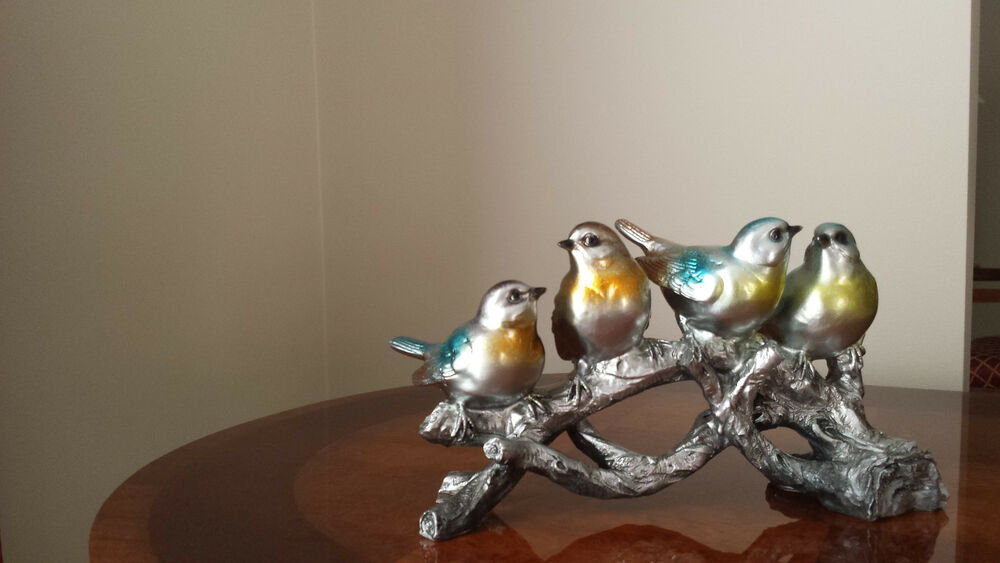 Group of birds ornament home decor ebay for Bird home decor