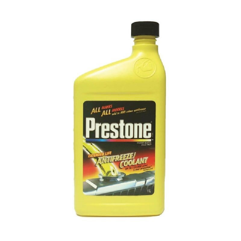 1lt Concentrate Prestone Antifreeze    Coolant Mixes With