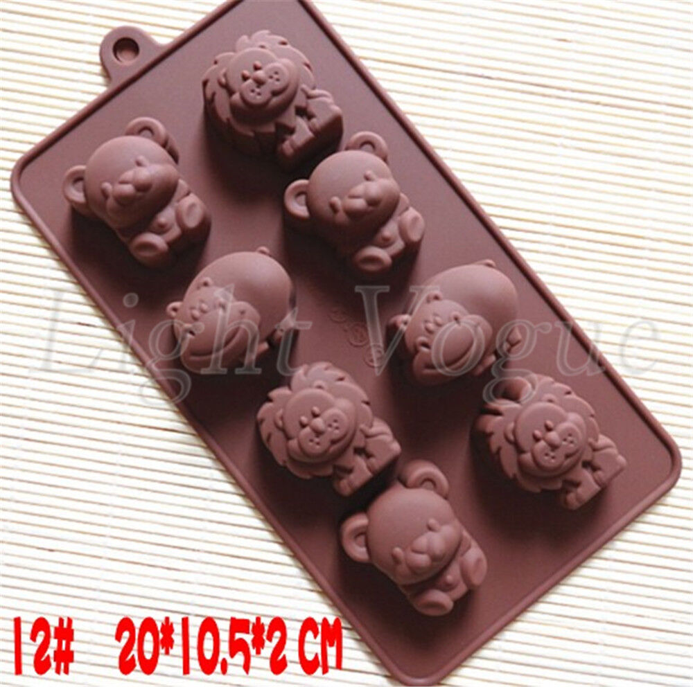 New Chocolate Cake Cookie Muffin Jelly Baking Silicone ...