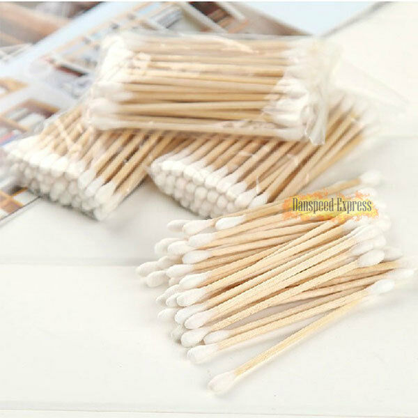 1200pc Makeup Cosmetic Double Tip Cotton Buds Cleaning