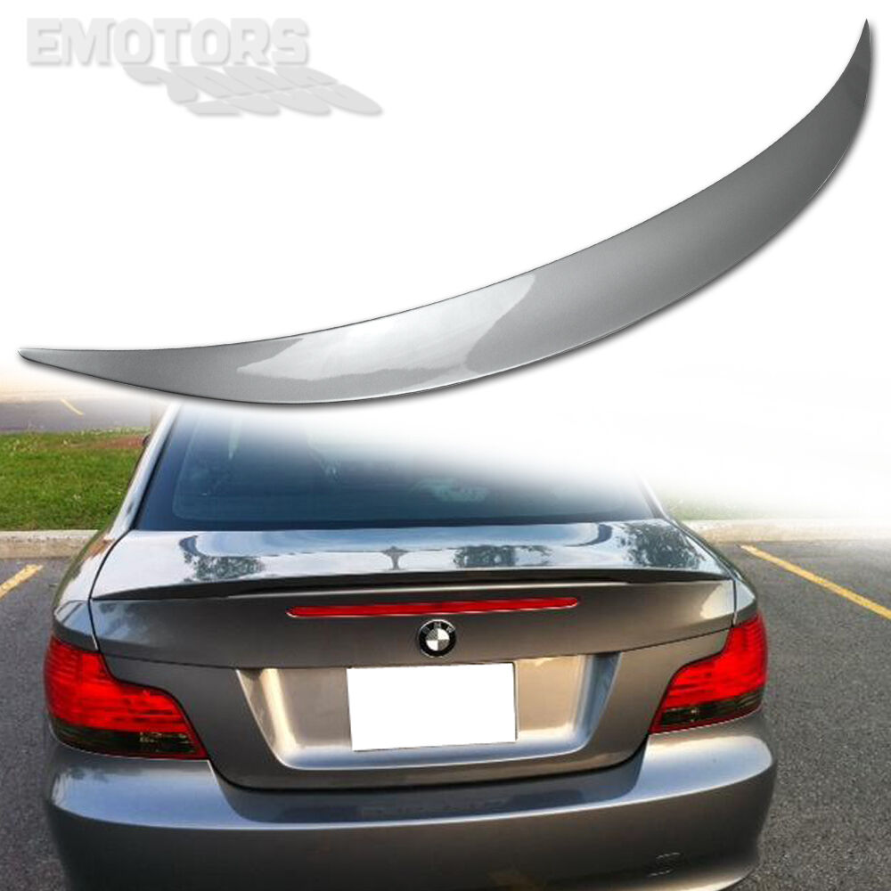 1-SERIES PAINTED ABS BMW E82 PERFORMANCE REAR TRUNK