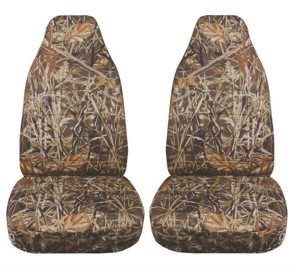 Jeep Seat Covers >> JEEP WRANGLER TJ 1997-2002 CAMOUFLAGE CAR SEAT COVERS WETLANDS DESIGN   eBay