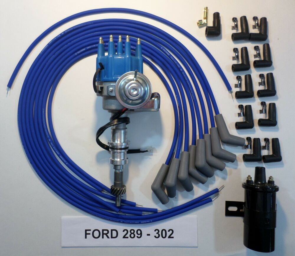 Ford 302 Ignition Coil Wiring On Reveolution Of Diagram 289 Blue Small Cap Hei Distributor Black 45k Volt Switch System
