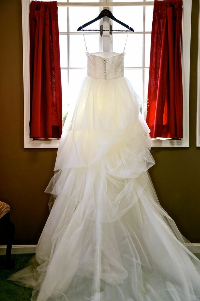 ... Wang Wedding Gown Accessories VW351065 of The White Collection | eBay