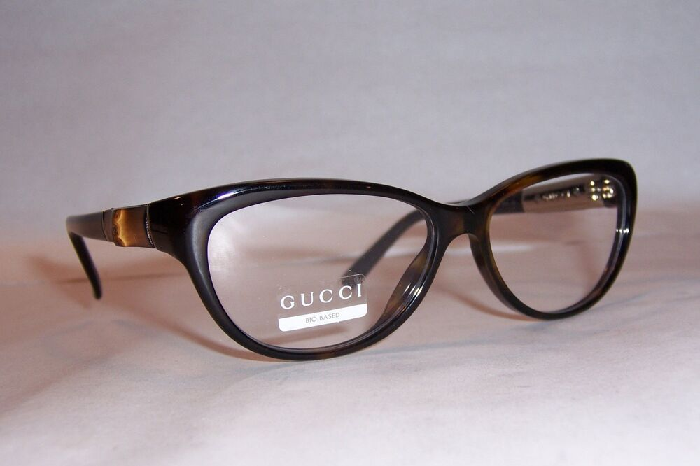 NEW GUCCI EYEGLASSES GG 3700 GG3700 WR9 BROWN HAVANA 53mm ...