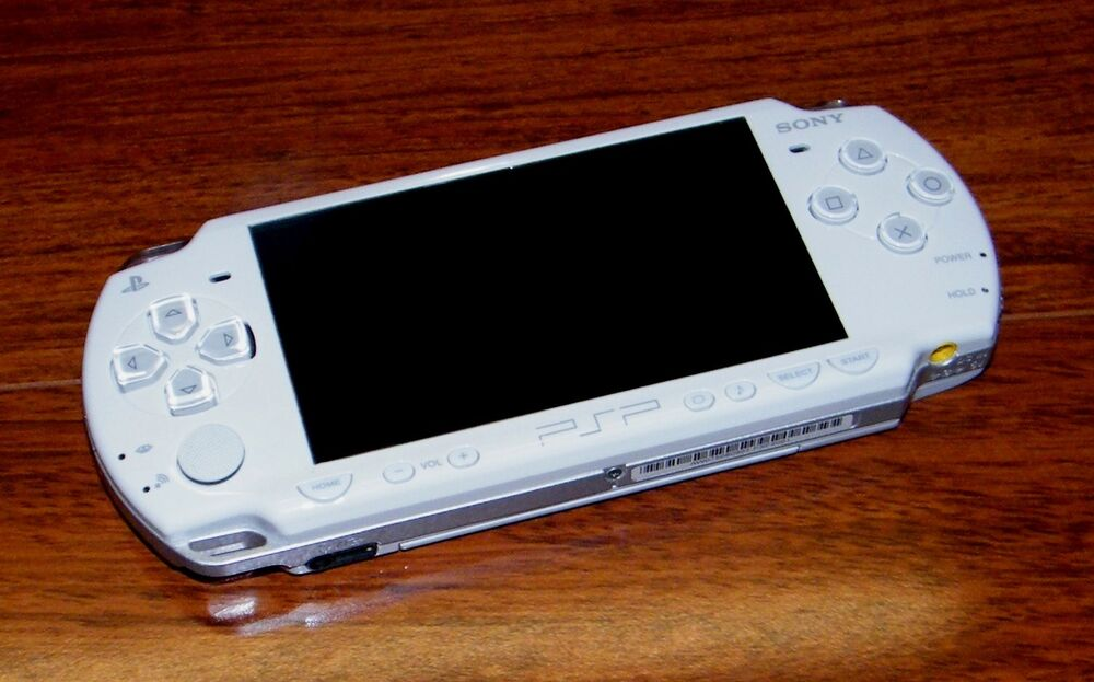 Psp 1000 Psp 2000 : Sony playstation portable psp white handheld