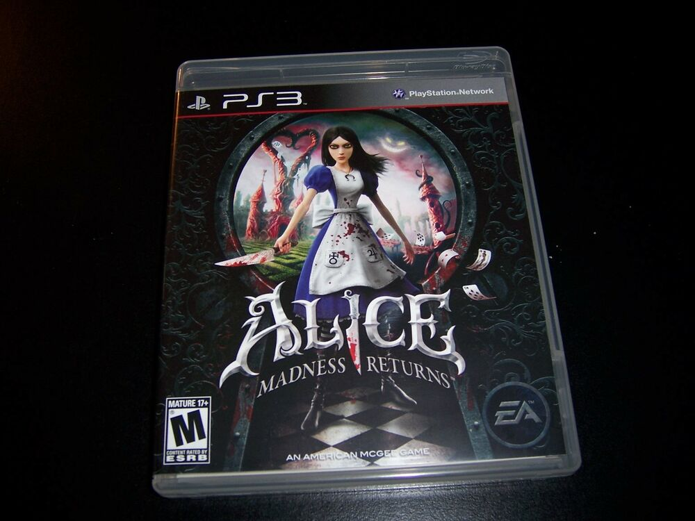 Replacement Case (NO GAME) ALICE MADNESS RETURNS ...