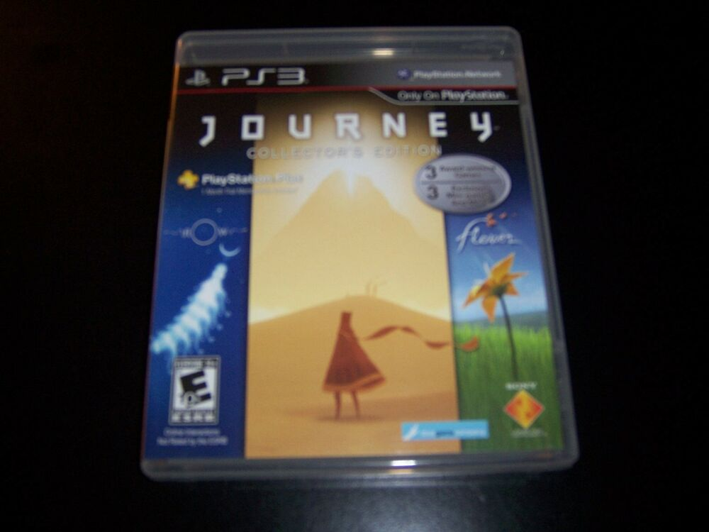 Replacement Case (NO GAME) JOURNEY COLLECTORS EDITION ...
