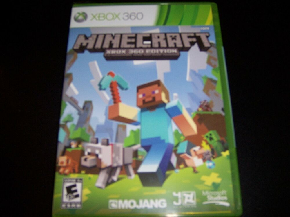 For Minecraft Pc Game Case : Replacement case no game minecraft xbox ebay