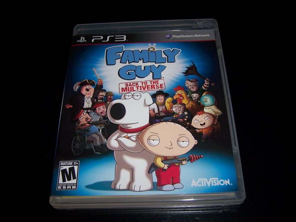 Family Games For Ps3 : Replacement case no game family guy back to the