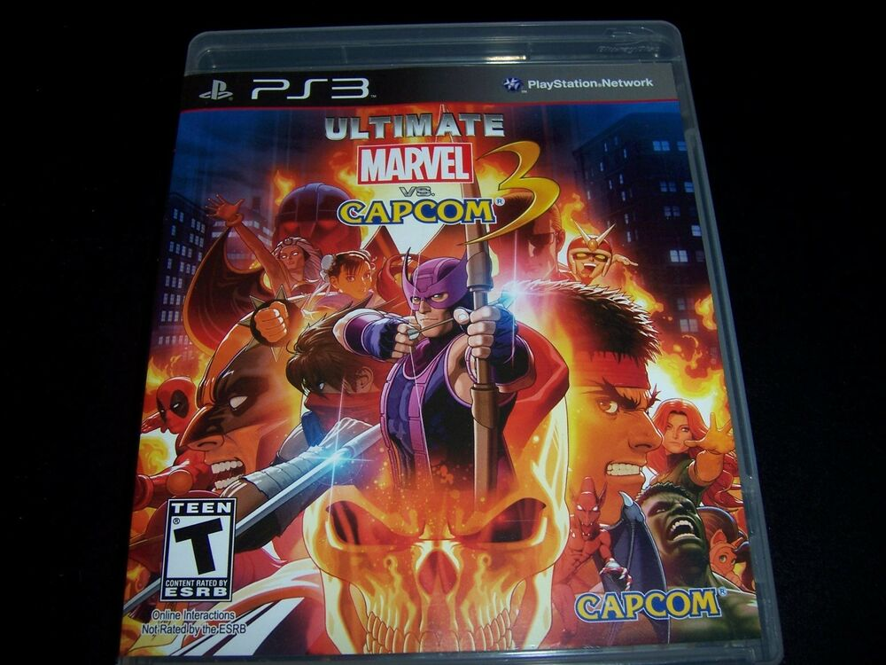 Replacement Case (NO GAME) ULTIMATE MARVEL VS CAPCOM 3 ...