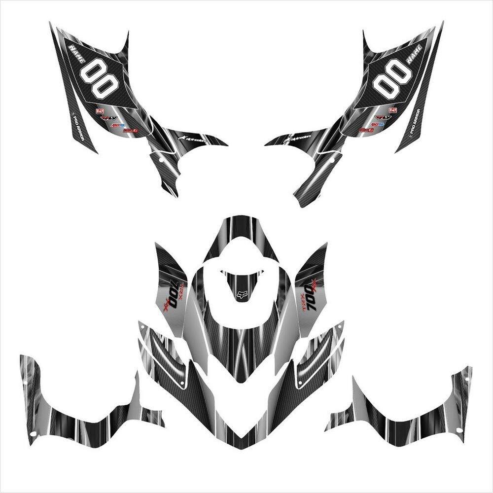 Details about trx 700xx trx 700 xx graphics custom sticker kit for honda 3333 metal