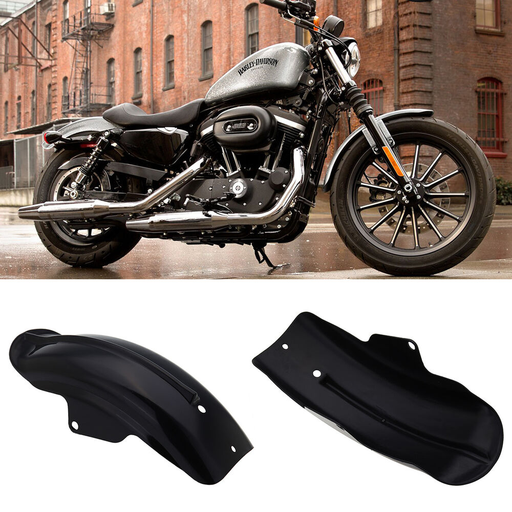 Rear Fender Mudguard For Harley Davidson Sportster Bobber Chopper Cafe