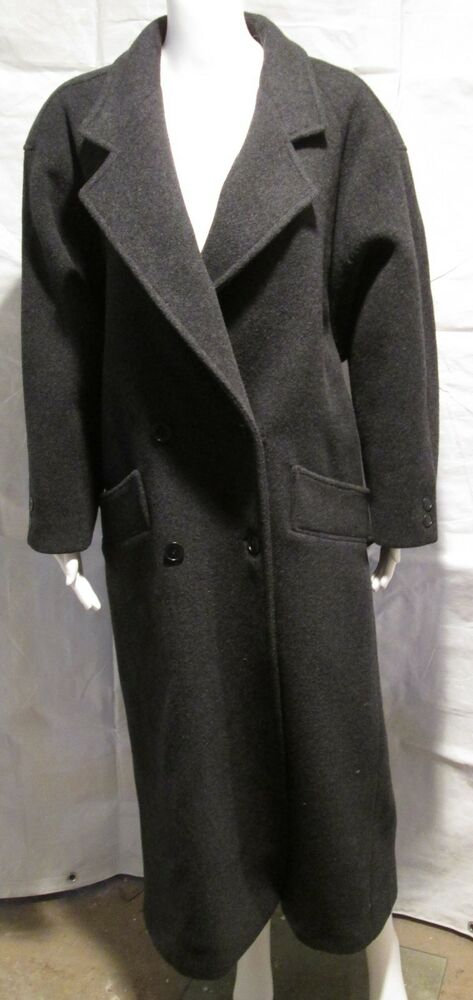 Harve Benard 100 Wool Long Coat Size 12 Euc Ebay