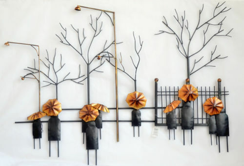 Wall Hanging Artwork : Home modern abstract metal art wall hanging decoration