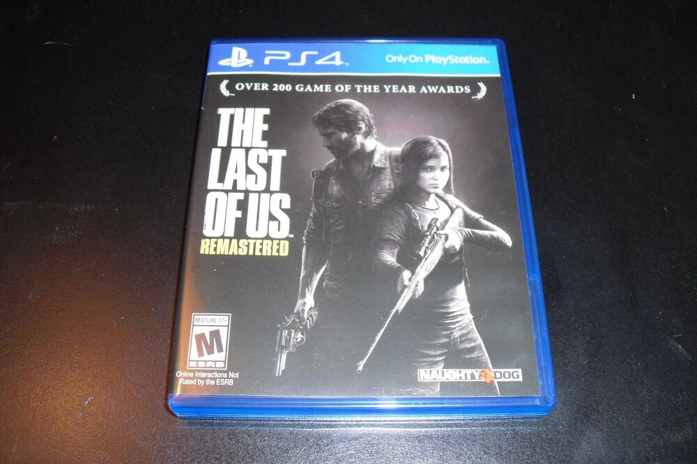 Replacement Case No Game The Last Of Us Remastered Ps4