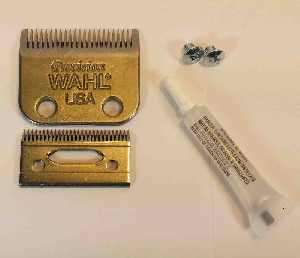 how to change blade on wahl clippers
