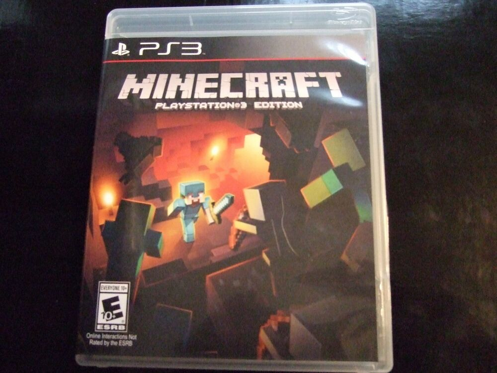 Replacement Case (NO GAME) MINECRAFT PLAYSTATION 3 PS3   eBay