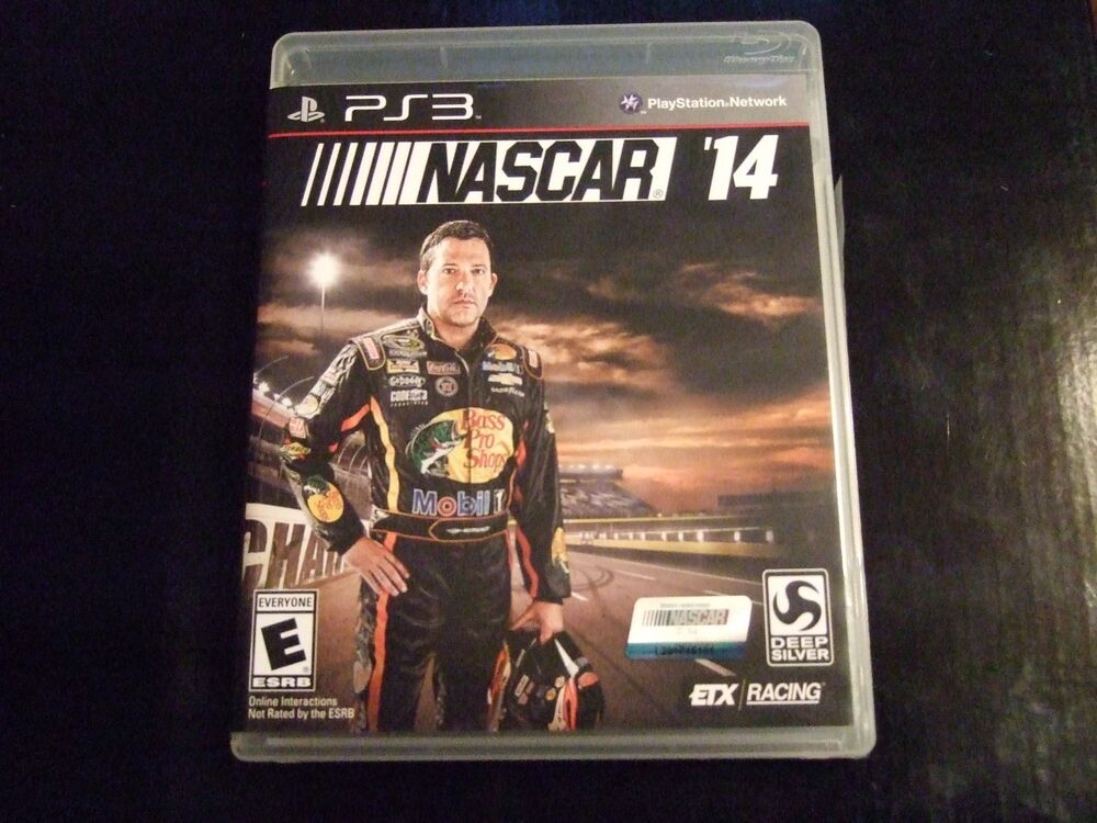 Replacement Case (NO GAME) NASCAR 14 PLAYSTATION 3 PS3   eBay