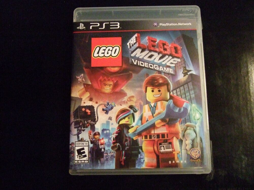 Lego Games For Ps3 : Replacement case no game the lego movie videogame