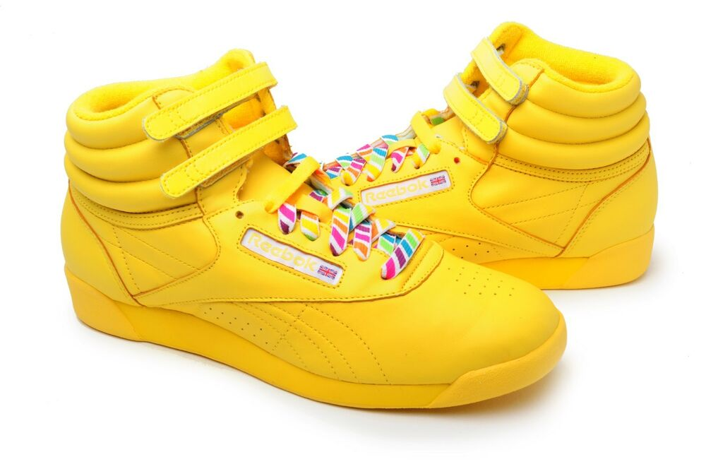 Yellow Gold Tennis Shoes