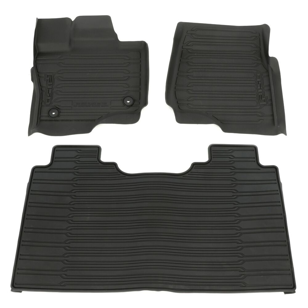 2015 Ford F 150 Supercrew Cab All Weather Rubber Floor