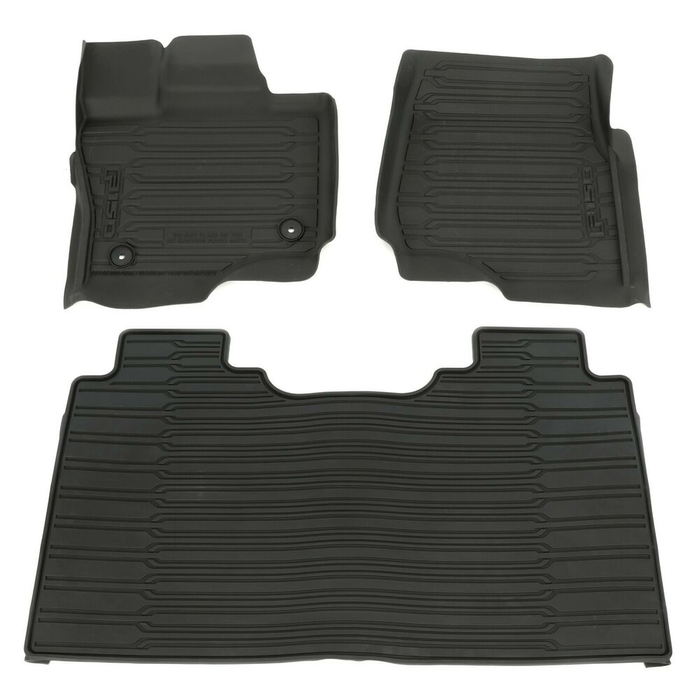 2015 Ford F150 Supercrew Cab Interior: 2015-2018 Ford F-150 Super Crew Cab All Weather Rubber