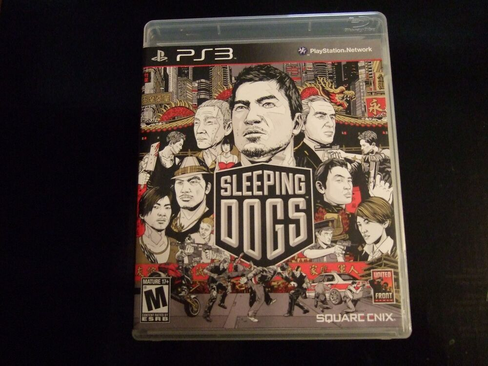 Replacement Case No Game Sleeping Dogs PlayStation 3 PS3 | eBay