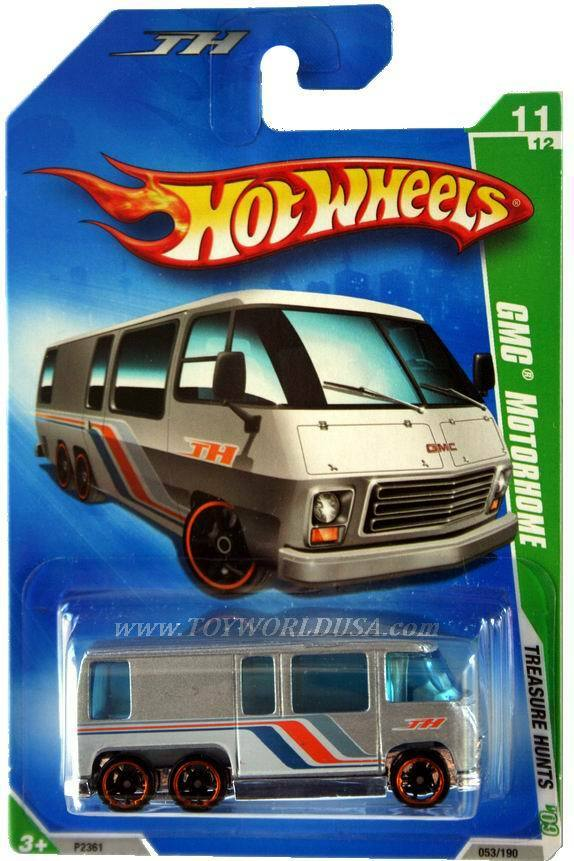 Cars For Short People >> 2009 Hot Wheels Treasure Hunt #53 GMC Motorhome | eBay