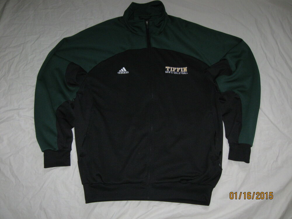 Tiffin Dragons Mens Volleyball Adidastrack Jacket Mens