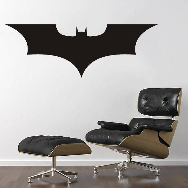 Batman dark knight wall art sticker decal mural bedroom for Dark knight rises wall mural