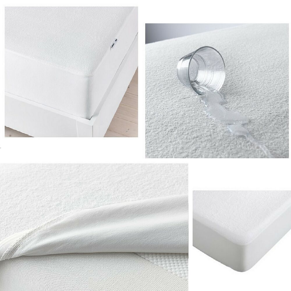 Ikea Gokart Waterproof Mattress Protector Fitted Sheet Bed
