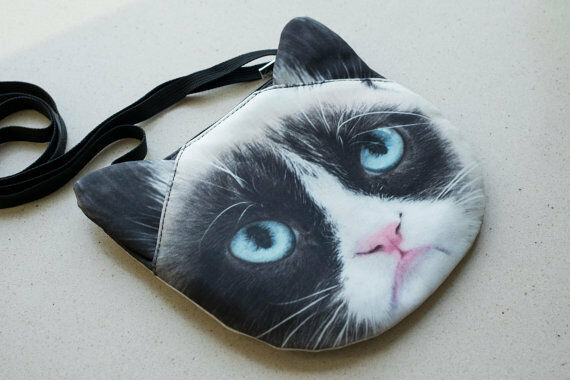 Grumpy Cat Cross Body Bag #SB-330 - NEW | eBay