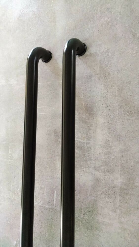 36 39 39 Pulls Handles Entry Door Gate Entrance Door Pull Black Stainless Steel Ebay
