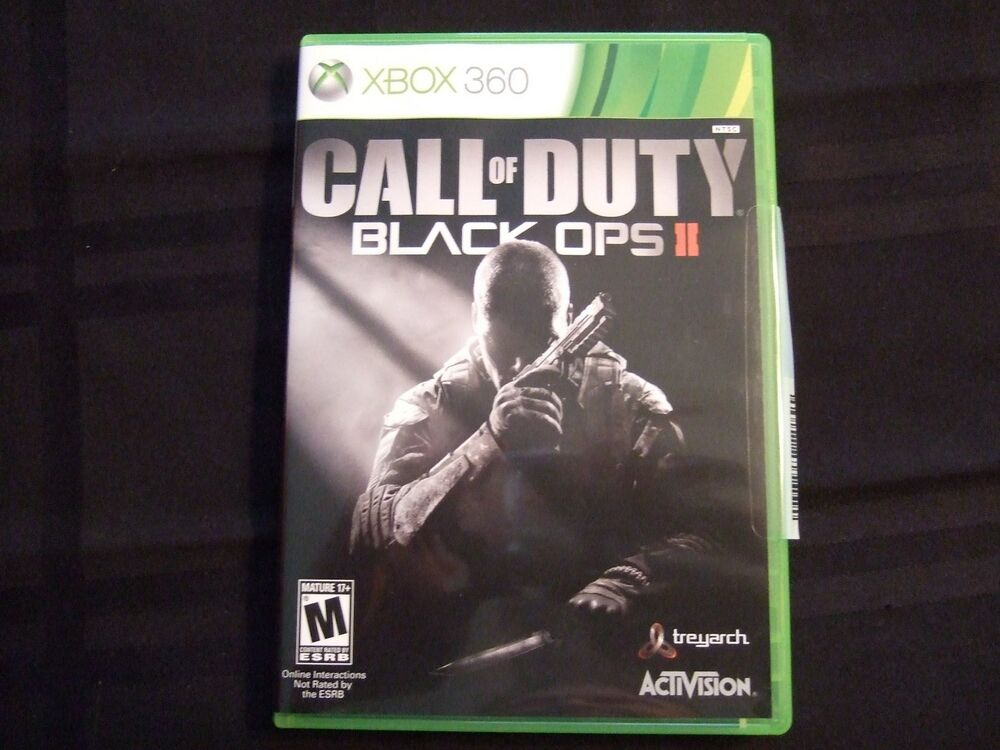 Xbox One Call Of Duty Black Ops 2 Replacement Case (NO G...