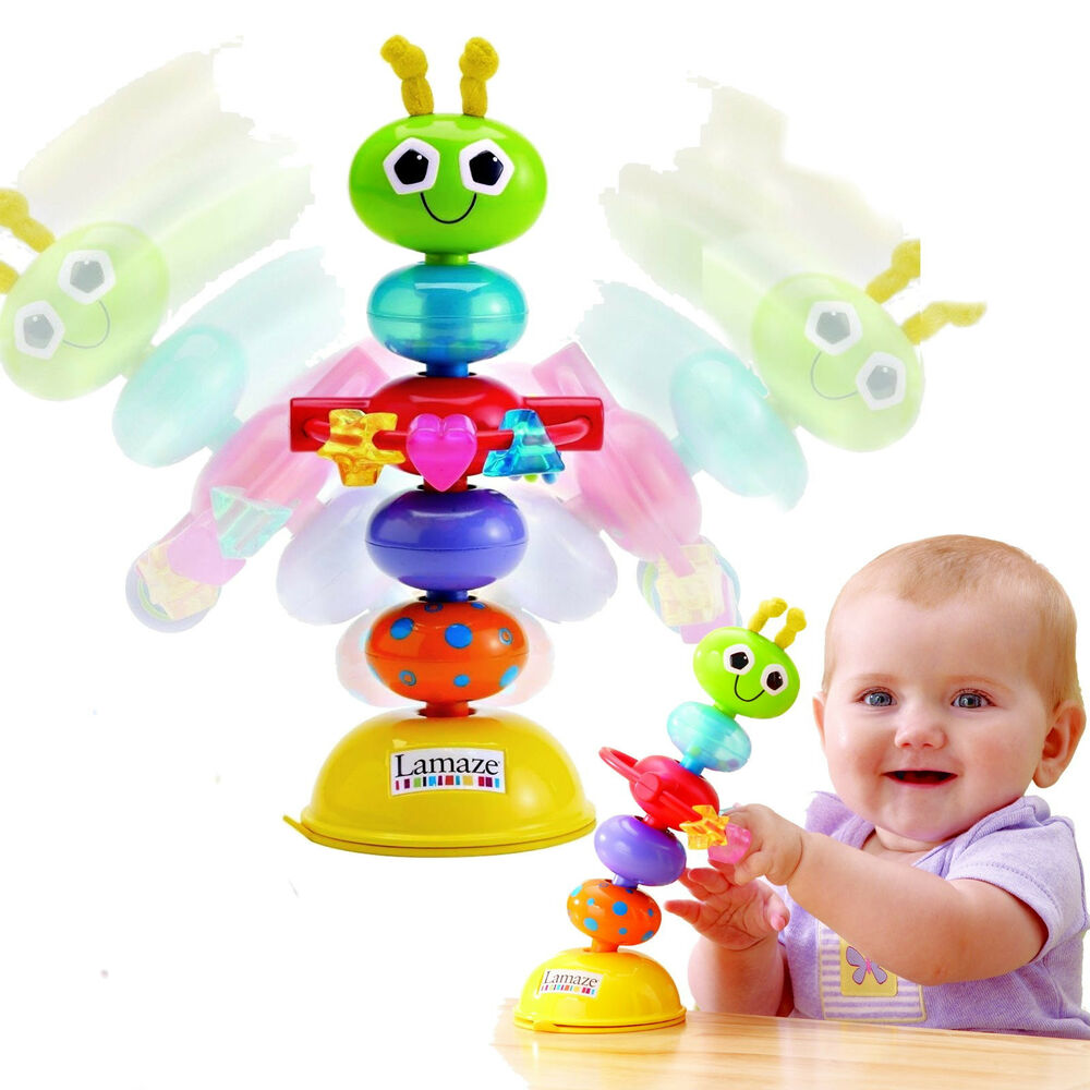 baby spielzeug lamaze k fer der rasselt mit saugnapf ab 6 monate motorik neu ovp ebay. Black Bedroom Furniture Sets. Home Design Ideas