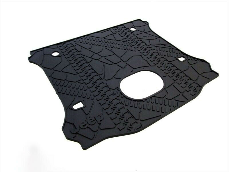 15 17 Jeep Wrangler Unlimited Rear Cargo Aera Mat With