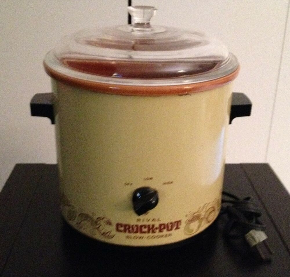Vintage slow cookers