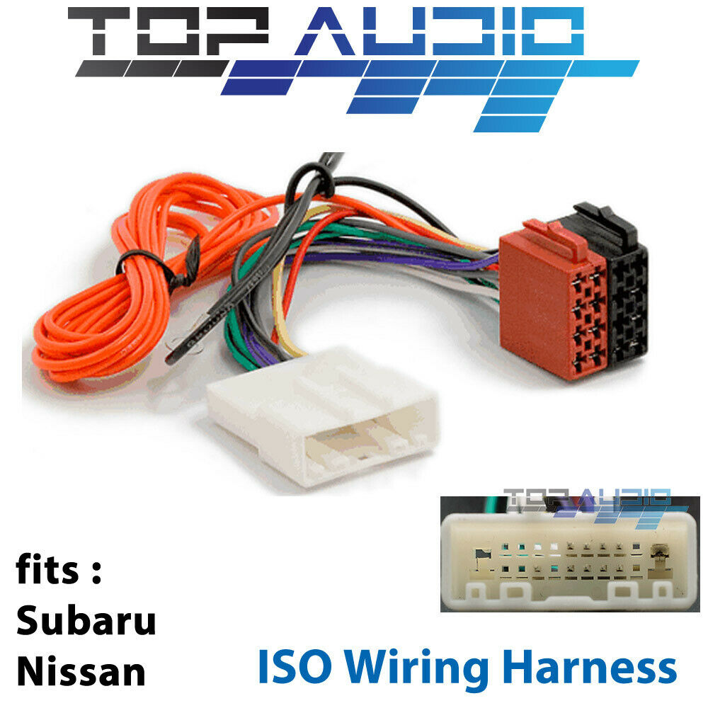 Fit Nissan Navara D40 Np300 Iso Wiring Harness Adaptor Lead Wire Loom Connector
