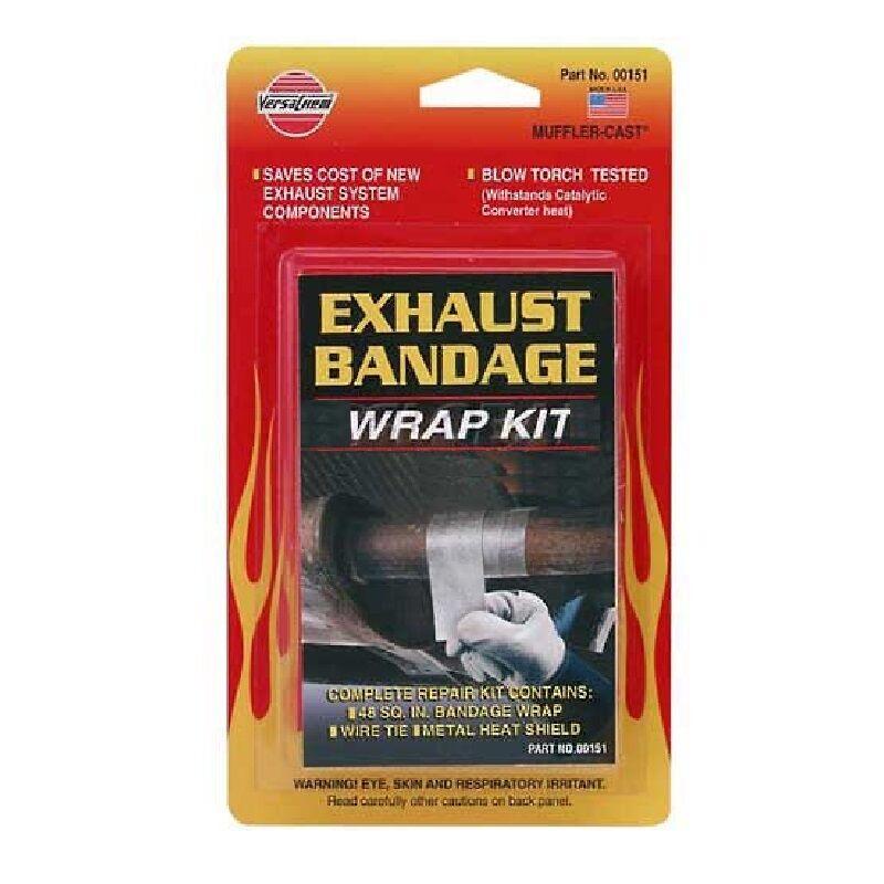 Versachem Exhaust Bandage Kit High Heat Repairs Tailpipe