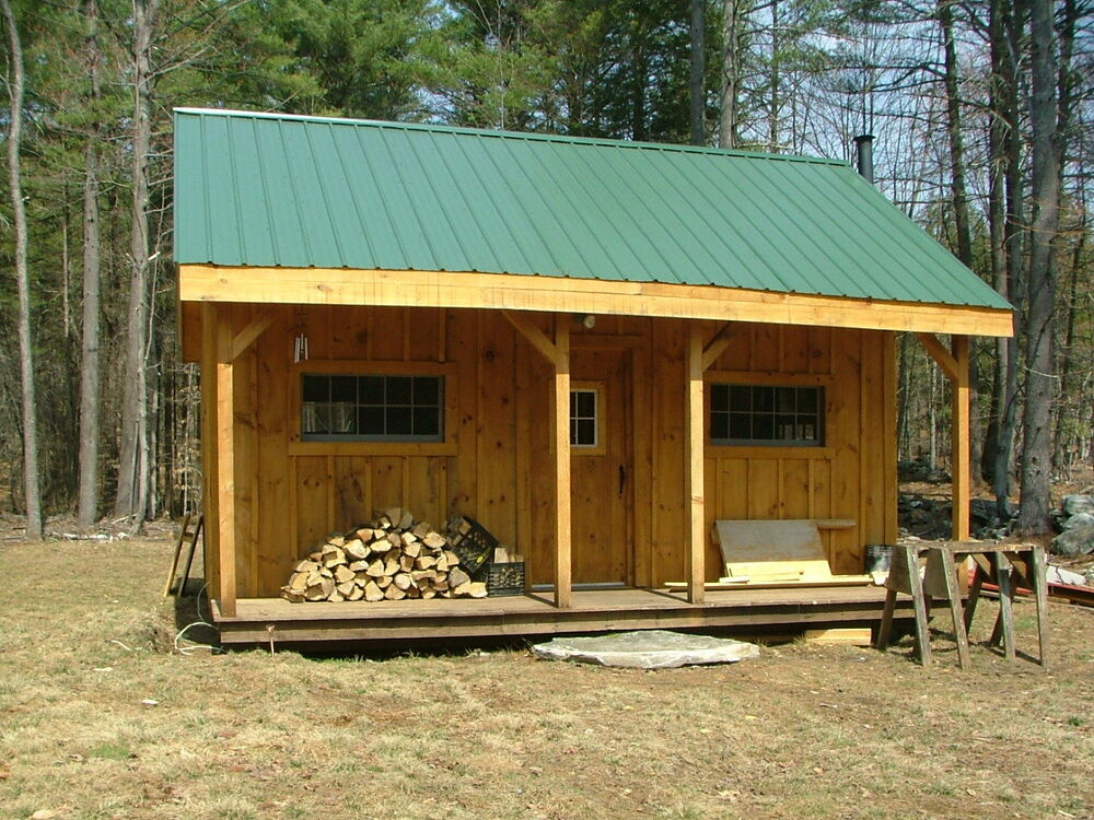 Vermont cottage option a tiny house living full color for Vermont home designs