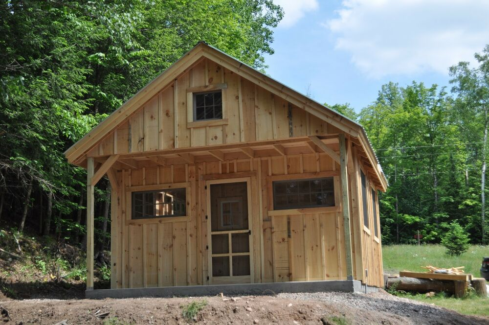 Vermont cottage option c tiny house living full color for Vermont home designs
