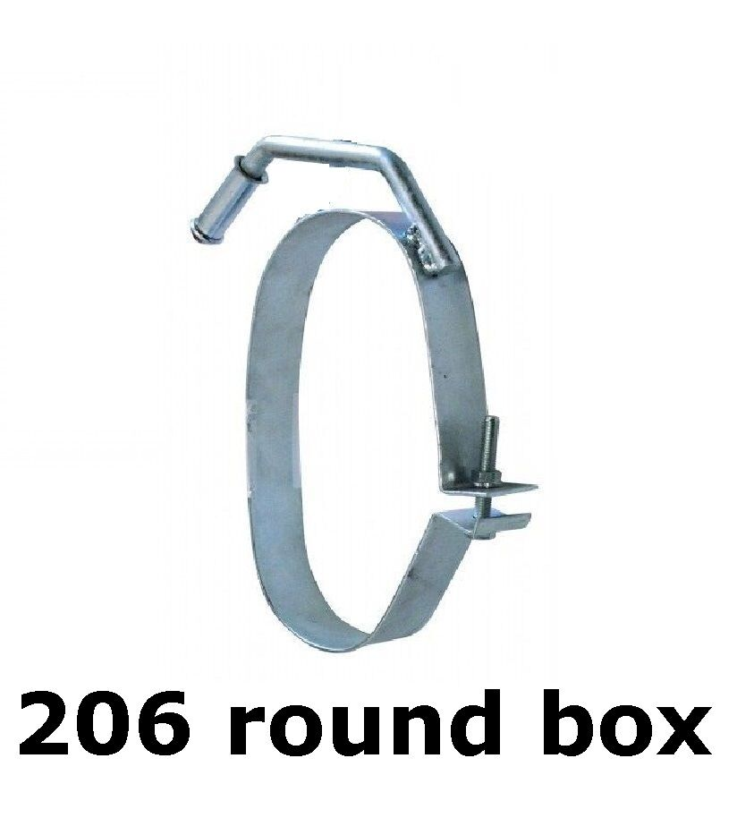 New Peugeot 206 Rear Exhaust Round Silencer Box Body