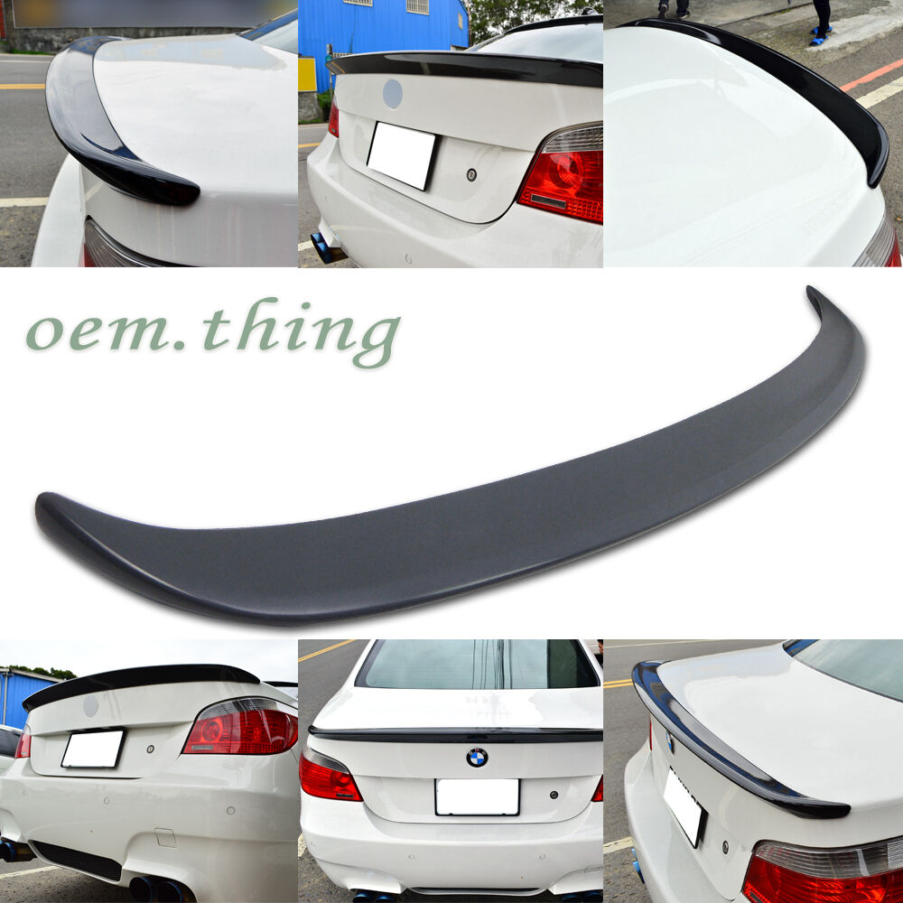 bmw e60 5 series 4d sedn a type rear boot trunk spoiler m5. Black Bedroom Furniture Sets. Home Design Ideas