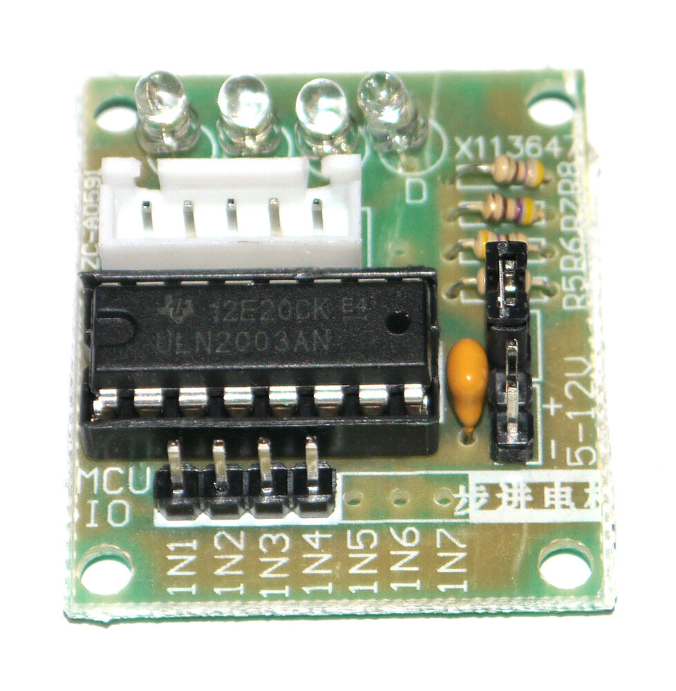 Uln stepper motor driver board for arduino avr ar m