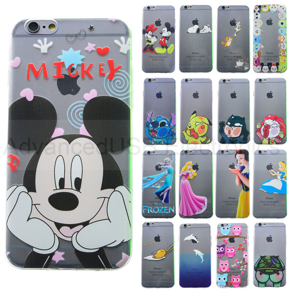 Coque housse gel blanche neige princesse mickey disney for Housse iphone 5s