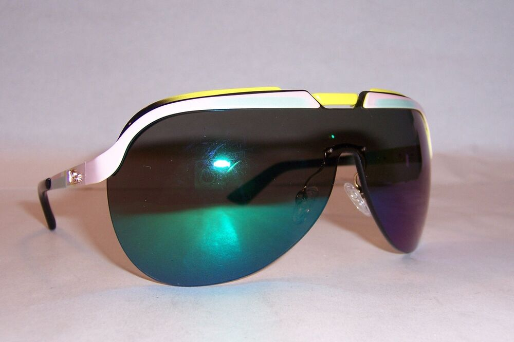 31c6738596 NEW CHRISTIAN DIOR SOLAR S 6OS-T5 YELLOW GREEN MIRROR SUNGLASSES AUTHENTIC